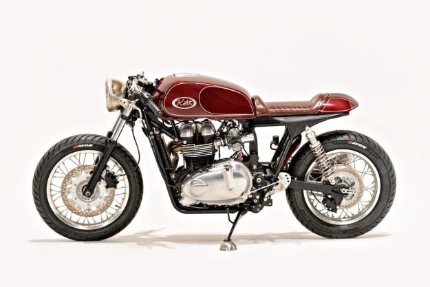 Cafe Racer par Kott Motorcycle pour Ryan Reynolds