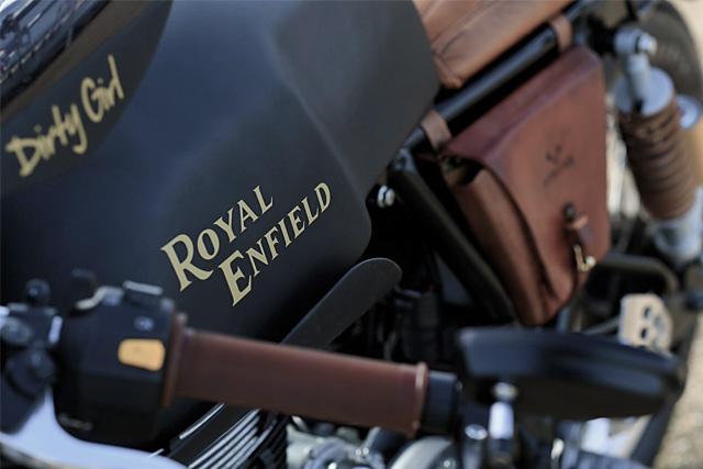 Royal Enfield Continental GT par Rewind MC
